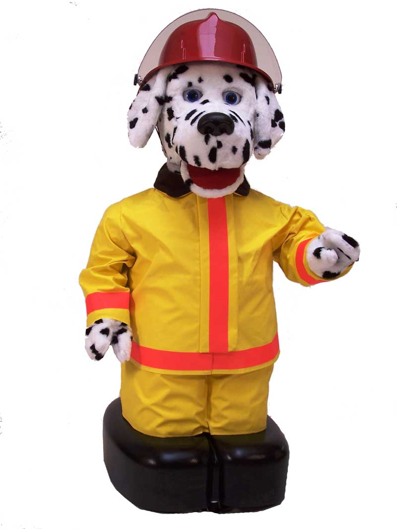 sparky the fire dog costume