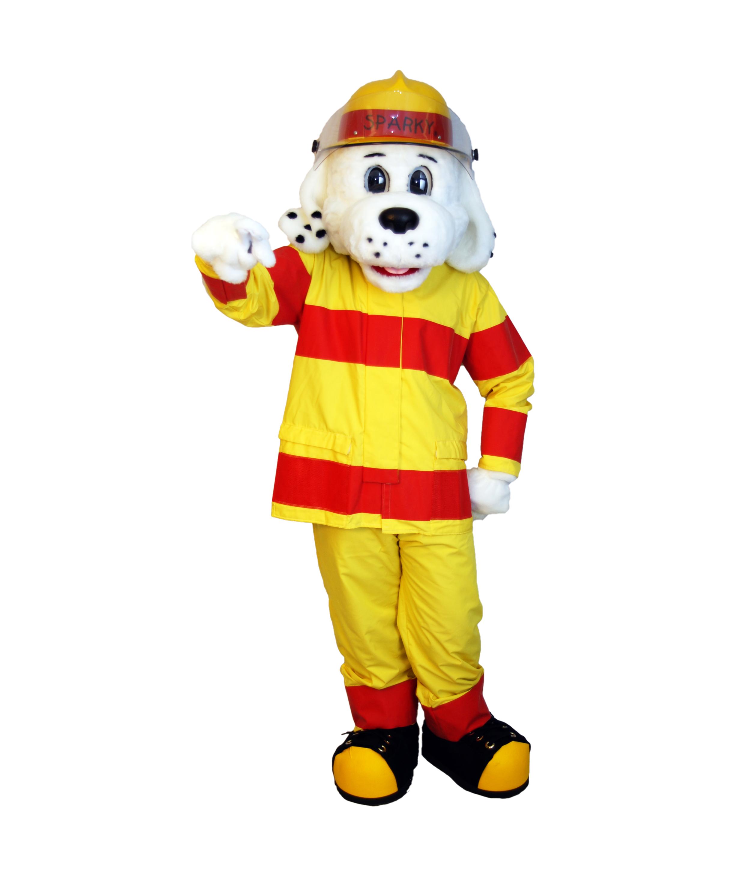 Dalmatian Fire Dog Costume